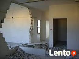Wyburzenia, wyburzanie ścian