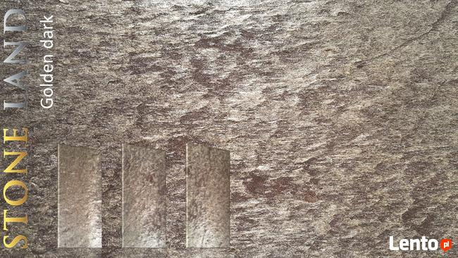 GOLDEN DARK okładzina kamienna/fornir kamienny