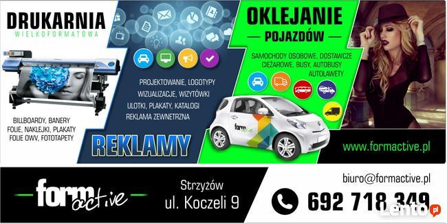 Agencja reklamowa Form Active producent reklam, drukarnia