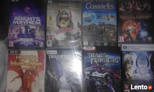 Mam na sprzedaż różne gry