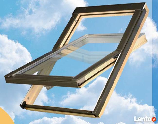 Okno dachowe OPTILIGHT 78x118 + KOŁNIERZ 598,58