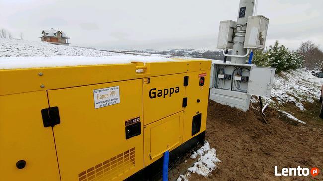 Tylko na zewnątrz Agregat prądotwórczy 40 kW zabudowany z ATS/SZR, dostępny Lublin MX56