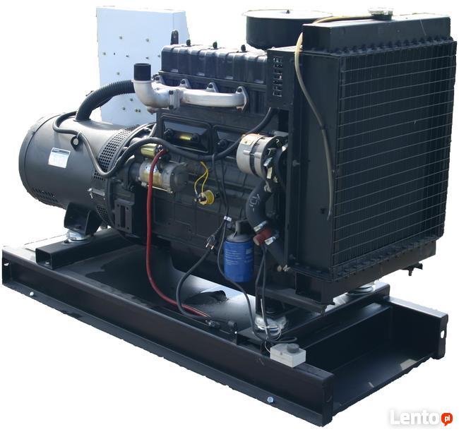 Agregat prądotwórczy NOWY 120kW 150kVA, z ATS/SZR otwarty