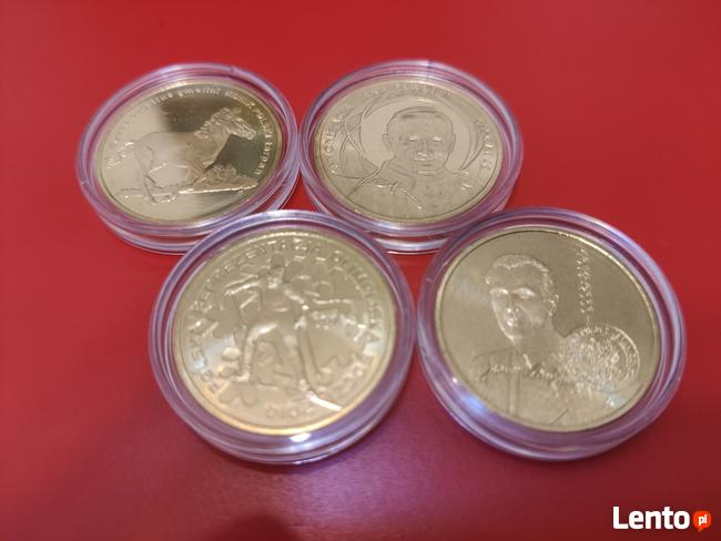 2014r. 2zł GN komplet 4 monety