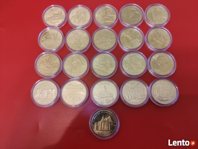 2011r. 2zł GN komplet 21 monet
