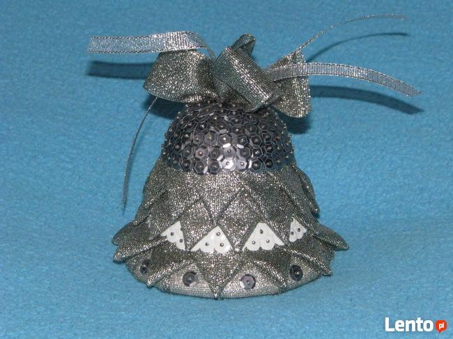 Dzwonek świąteczny ozdoba dzwoneczek Boże Narodzenie