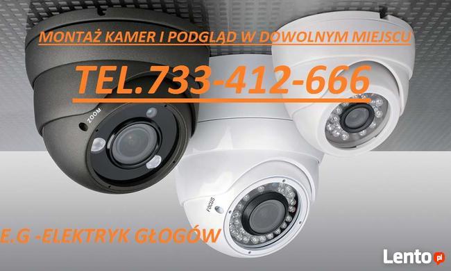 MONITORING kamery, podgląd online, alarm montaż instalacja