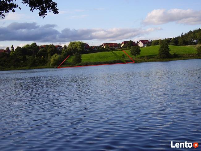 działka nad jeziorem z dostępem do jeziora Kaszuby wyjątkowa