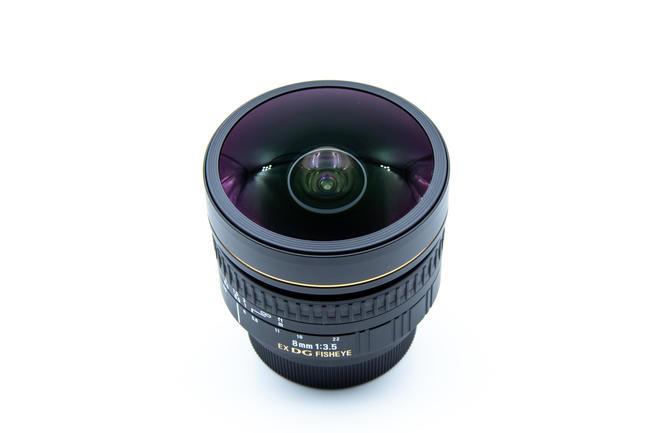 Sigma 8 mm f/3.5 EX DG Nikon 16191389