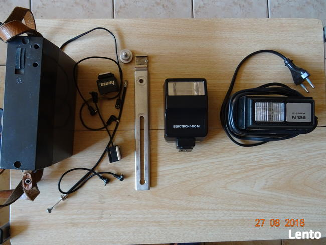 Akcesoria do fotografowania - lampy błyskowe