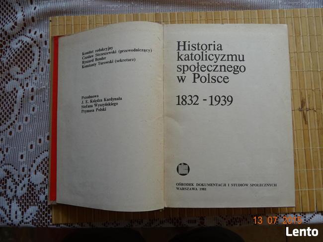 Historia katolicyzmu w Polsce do 1939 roku