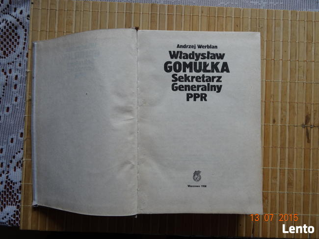 Historia I Sekretarza PRL - zdjęcia biografia opis