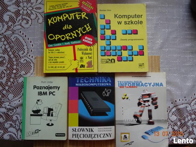 Książki do obsługi komputerów .