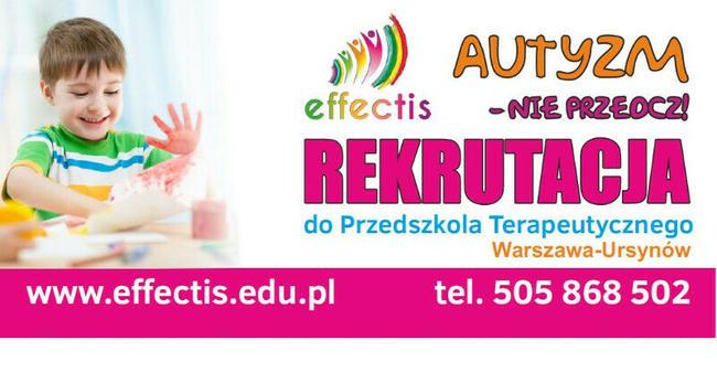 Effectis - PRZEDSZKOLE TERAPEUTYCZNE dla dzieci z autyzmem W