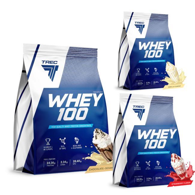 białko Trec Whey 100 900g