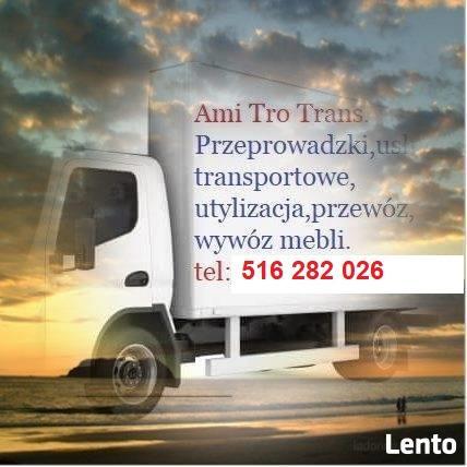 Utylizacje, Recykling, Przeprowadzki, Szybki transport,