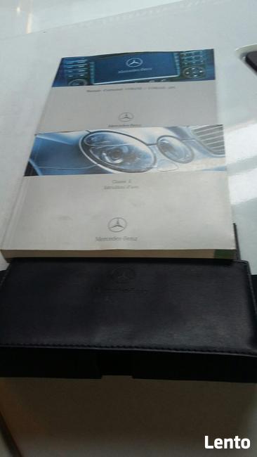 instrukcja obsługi Mercedes -Benz E-klasa 2004 komplet orgin