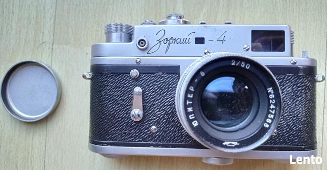 Aparat Zorki 4 - produkcja lata 50-te.