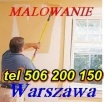 Malowanie mieszkań,ogrodzeń.Stawianie ścian - tanio Warszawa