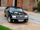 Chrysler 300c Audi A6 auto do ślubu wynajem Brodnica
