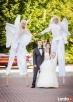 Anioły na szczudłach na ślub i wesele