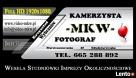 Wideofilmowanie Bydgoszcz FullHD & Fotografowanie 18mln  Bydgoszcz