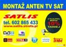 MONTAŻ ANTEN TARNÓW TV SAT DVB-T 602 865 433 Radłów Pleśna