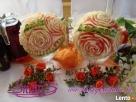Carving- dekoracje z owoców na wesele itp.