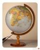 Globus 320 Polityczno - Fizyczny - 2w1! - Podświetlany - 2
