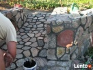 ogrodzenie z kamienia kamień łupany łupek łamany grill