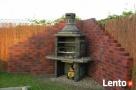 grill kominek ogrodowy fontanna kolumna betonowa Turobin