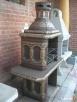 grill kominek ogrodowy fontanna kolumna betonowa - 3