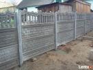 Ogrodzenia betonowe, płoty betonowe, przęsła, podmurówka, - 7