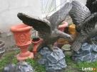 Ozdoba do ogrodu figura rzeźba ogrodowa orzeł - 3