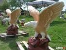 Ozdoba do ogrodu figura rzezba ogrodowa orzeł Turobin