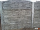 Ogrodzenia betonowe, płoty betonowe, przęsła, podmurówka, Turobin