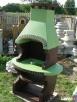 grill kominek ogrodowy fontanna kolumna betonowa - 4