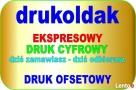 DRUK cyfrowy, offsetowy, wielkoformatowy WARSZAWA - 1