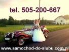 Auto do ślubu NESTOR BARON-kabriolet,limuzyna CADILLAC