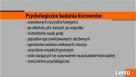 PSYCHOLOGICZNE BADANIA KIEROWCÓW I OPERATORÓW W SŁAWNIE - 2