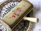 1920 Szczotka do tapicerki malowana ręcznie ANTYK - 1
