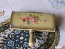 1920 Szczotka do tapicerki malowana ręcznie ANTYK - 3