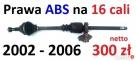 Prawa półoś napędowa ABS długa 16 Cali DUCATO BOXER Rawa Mazowiecka