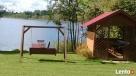 domki letniskowe nad jeziorem Sztabinki Sejny