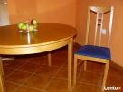 Stół rozkładany i cztery krzesła Strzelin