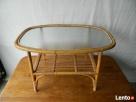 Ława szklana bambusowa Słupsk