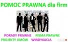 PRAWNIK DLA FIRM Porady prawne >Umowy >Pisma Warszawa