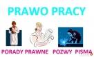 PRAWO PRACY sprawy pracownicze ZUS KRUS porady prawne pisma Warszawa