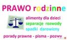 PRAWO RODZINNE - pomoc prawnika w sprawach rodzinnych PORADY Warszawa