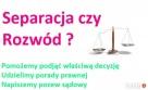 Separacja między małżonkami POMOC PRAWNIKA ** Porady Warszawa